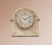 clock retro wall Στοκ εικόνες με δικαίωμα ελεύθερης χρήσης