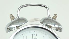 Clock ringing stock video