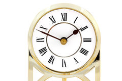 Clock with roman numerals Royalty Free Stock Photos
