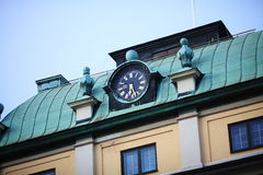 Clock roof Royalty Free Stock Photos