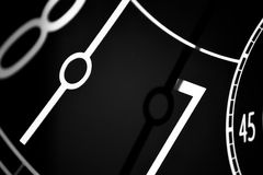 A clock's hands Royalty Free Stock Photo