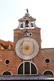 Clock San Giacomo Royalty Free Stock Photos