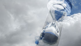 Clock of sand Royalty Free Stock Images