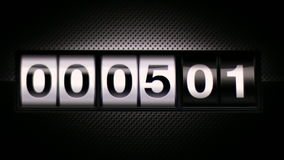 Clock 05 Scoreboard Digital Countdown stock video footage