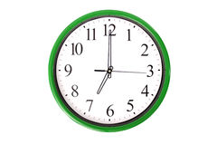 Clock serie - 7 o'clock Royalty Free Stock Image
