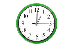 Clock serie - 1 o'clock Royalty Free Stock Image