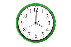 Clock serie - 4 o'clock Royalty Free Stock Image