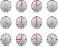 Clock series Stock Photography