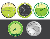 Clock set Stock Photos