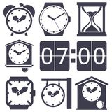 Clock set Royalty Free Stock Images