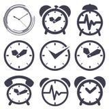 Clock set Royalty Free Stock Photography