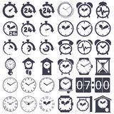 Clock set Royalty Free Stock Photography
