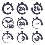Clock set Royalty Free Stock Image