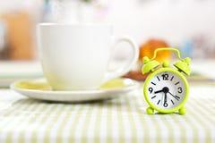 Clock set up on half past eight Royalty Free Stock Image