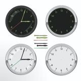 Clock set Royalty Free Stock Photo