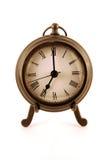 Clock at seven Stock Image