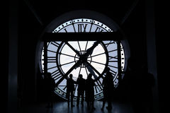 Clock shadow Royalty Free Stock Images
