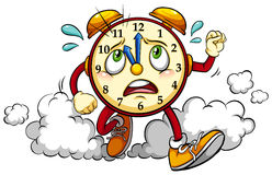 Clock showing the eleventh hour Stock Photography