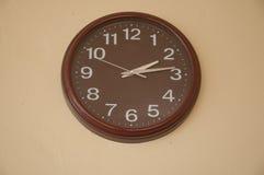 Clock showing 2.14 o'clock pm Stock Photo