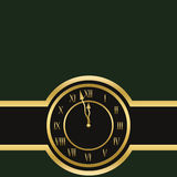 Clock is showing almost twelve Stock Photos