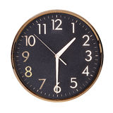 Clock shows half of the second Royalty Free Stock Images