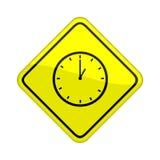 Clock sign Stock Photos