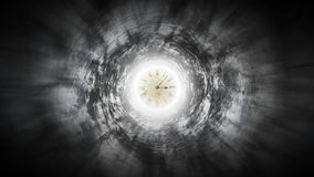 Clock speeds up arrows on fearful corridor