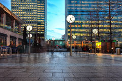 Clock square Stock Photography