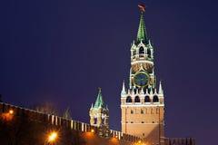 Clock står hög Royaltyfria Foton