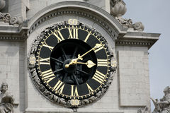 Clock of St. Paul's Cathedral Royalty Free Stock Image