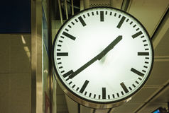 Clock in the Station Stock Photos