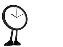 Clock stopped royalty free stock image