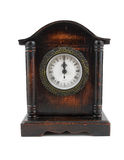 Clock strikes twelve o'clock Stock Image