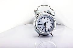 Clock studio. Alarm bell clock concept conceptual design desk dial Royalty Free Stock Image