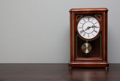 Clock on a Table Royalty Free Stock Photo