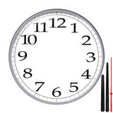 Clock template Stock Photos
