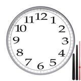 Clock template Stock Photos