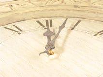 Clock (The Beginning) Stock Photo