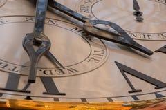 Clock tickar Fotografering för Bildbyråer