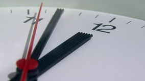 Clock ticking Stock Image