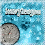 Clock is ticking Happy New Year Royalty Free Stock Photography