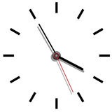 Clock-Time Stock Image