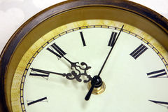 Clock time royalty free stock photo
