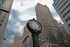 City clock new york Royalty Free Stock Images