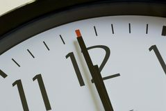 Clock_time Image libre de droits