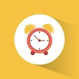 Clock time alarm watch vacation Royalty Free Stock Photos