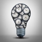 Clock Time Business Solution Royalty Free Stock Photos