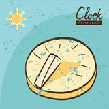 Clock and time design Stock Images