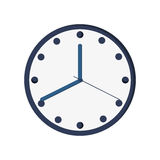 Clock time hour icon. Isolated  illustration Royalty Free Stock Photo