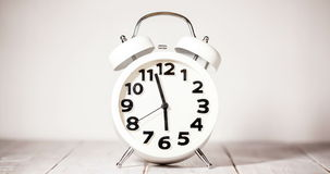 Clock Time Lapse stock footage